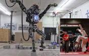 Robot Atlas Mimics Karate Kid