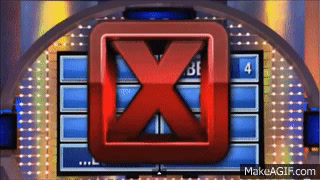 Family Feud Wrong Answer Buzzer Sound Effect on Make a GIF
