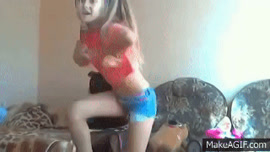 PSY GENTLEMAN DANCE COVER GIRL BY A YOUNG SEXY RUSSIAN GIRL!!!!