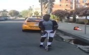 Jerry Purpdrank on scooter
