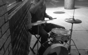 Paul Drum on Ashland BW GIF