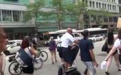 Dumb cop falls off segway #SlutWalkChi