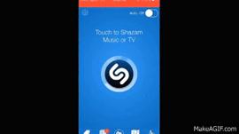 How to: use the shazam app
